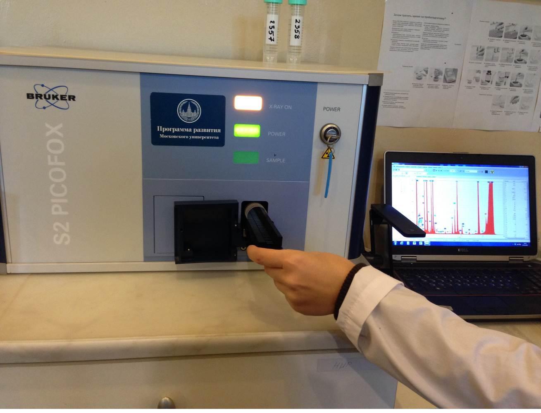 Рентгенфлуорисцентный спектрометр Bruker Picofox